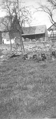 Jebsheim René Rivière 2e en partant de la droite le 05 avril 1945