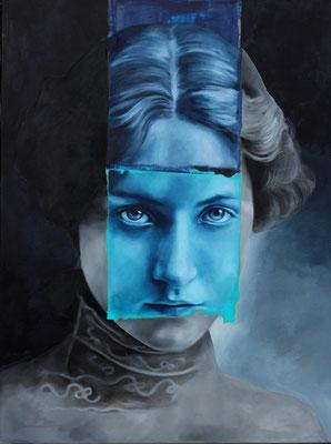 Frau | Öl auf Leinwand | 80 x 60 cm