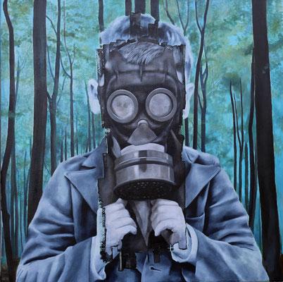 Waldluft | Öl auf Leinwand | 100 x 100 cm