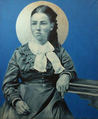 Mädchen | Ölfarben auf Leinwand | 120 x 100 cm | verkauft