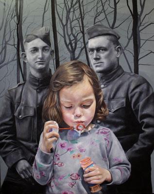 Matilda | 2016 | Ölfarben auf Leinwand | 150 x 120 cm