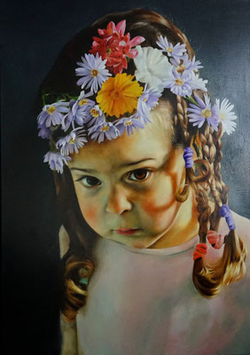 Florentine | 2015 | Ölfarben auf Leinwand | 100 x 70 cm