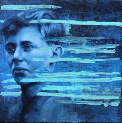 Junge | Öl auf Leinwand | 40 x 40 cm