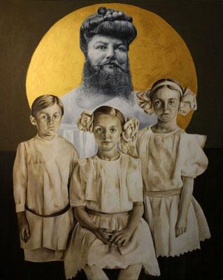 Kinder | Ölfarben auf Leinwand | 150 x 120 cm