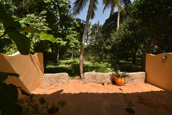 Terrasse Starfruit Gartenwohnung