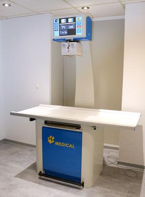 Digitales Röntgen zur sekundenschnellen Diagnostik (Detektorplattensystem)