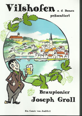 Vilshofener Comic über Joseph Groll