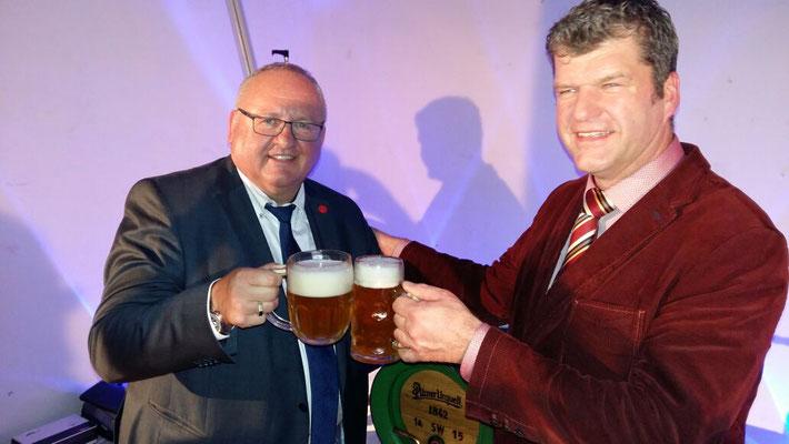 Herr Berka und Herr Heidhoff - Prost!