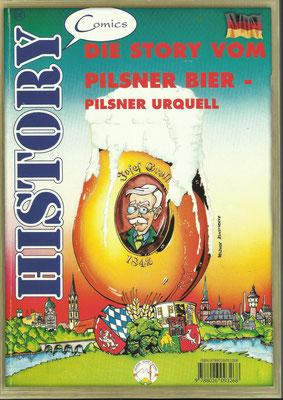 """Comic """"DIE STORY VOM PILSNER BIER"""""""