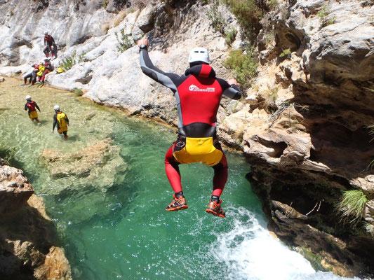 turismo activo ecoturismo altiplano granada barranquismo