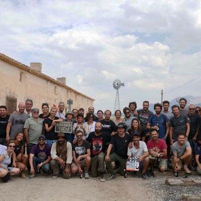 Rodaje de Intemperie en Galera y Orce (Granada)