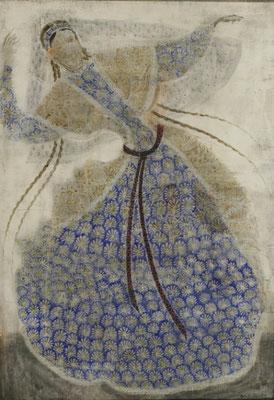"""Dancer"". Artist Merab Abramishvili"