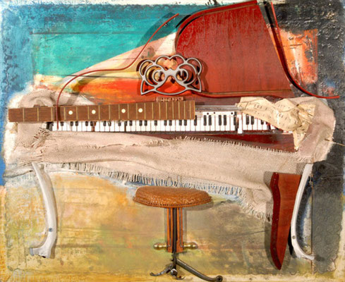 "Collage ""Grand Piano"""