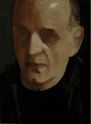 """Self-portrait"". Artist S. Adjiashvili"