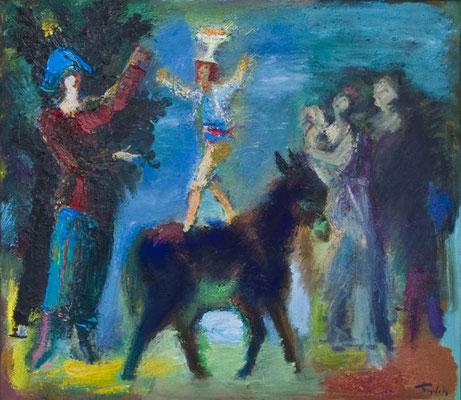 """Circus"". Artist Zurab Nijaradze"