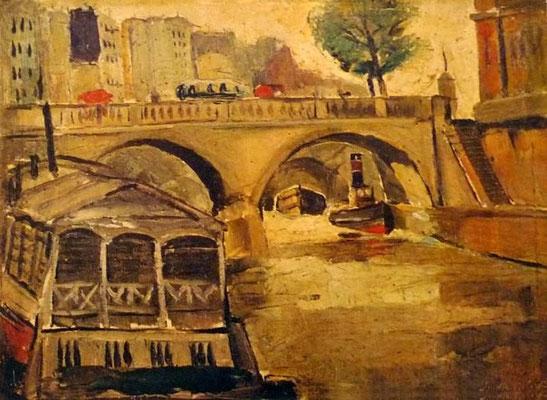"""""""Мост в Париже"""""""