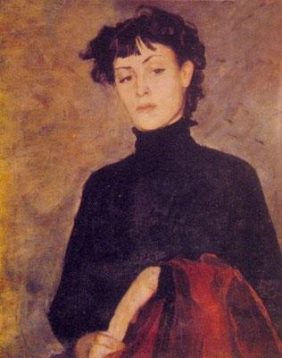 Портрет М. Хидашели - художник Кетеван Магалашвили