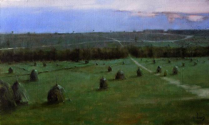 """""""Field"""". Artist V. Akhalkatsishvili"""