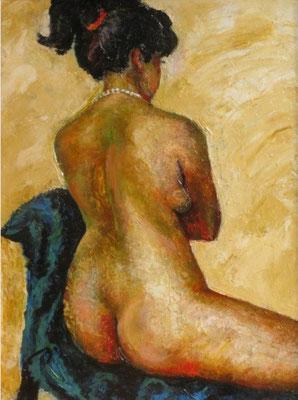 """""""Nude"""". Artist Lela Geleishvili"""