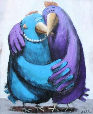 """""""Влюбленные"""". Artist A. Antadze"""