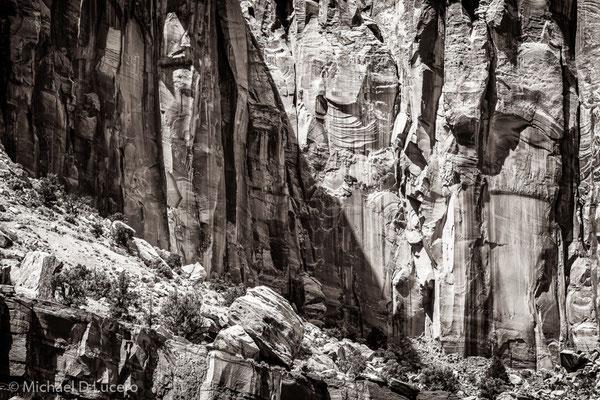 Cliff detail. Capitol Reef NP, Utah