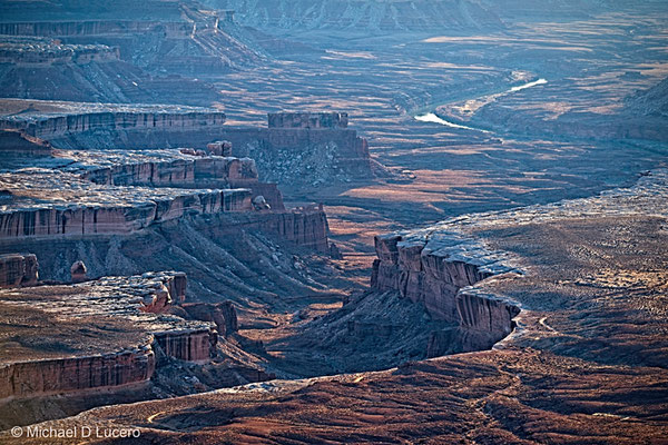 Afternoon light at the Green River Overlook, Canyonlands NP, Utah