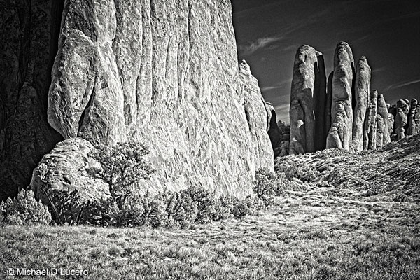 Monoliths in Arches NP, Utah