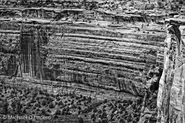 Desert cliff, Colorado NM, Colorado