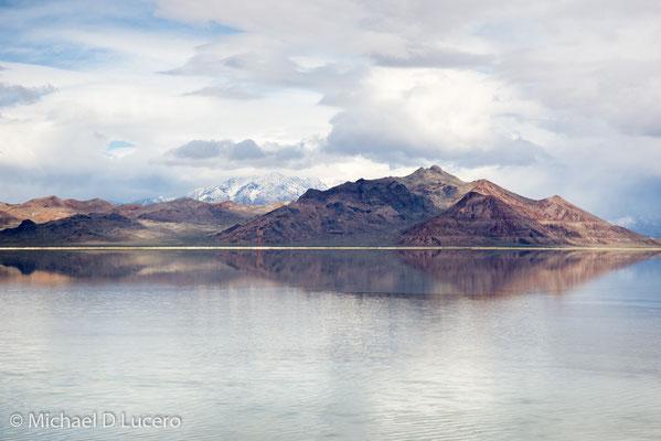 Great Salt Lake near Bonneville