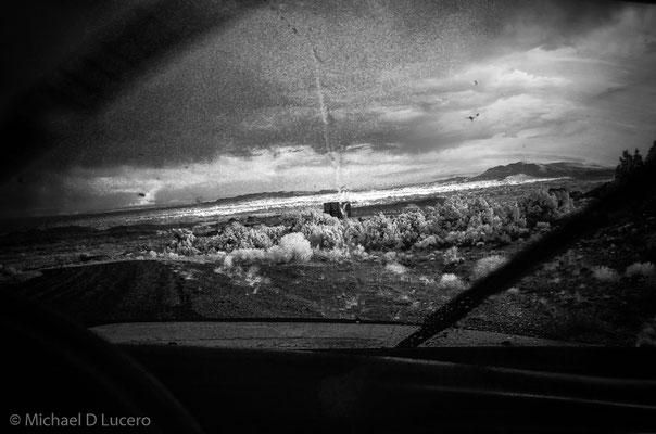 Rain near Vernal, Utah