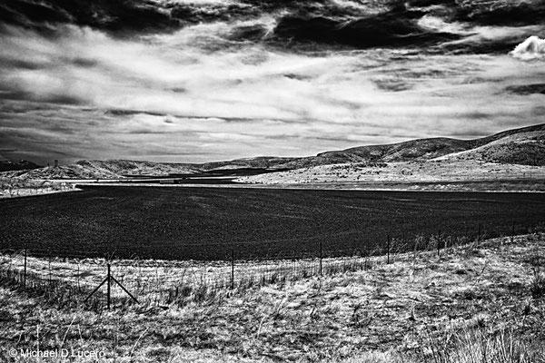 Farmland, northern Utah