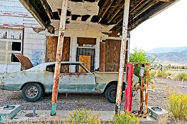 Abandoned gas station, Hwy 89, Central Utah