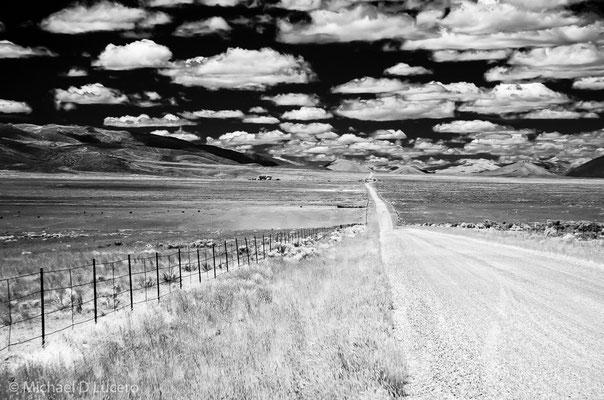Rural road, southern Idaho