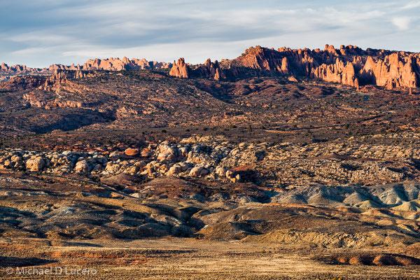 Fiery Furnace Landscape, Arches NP, Utah