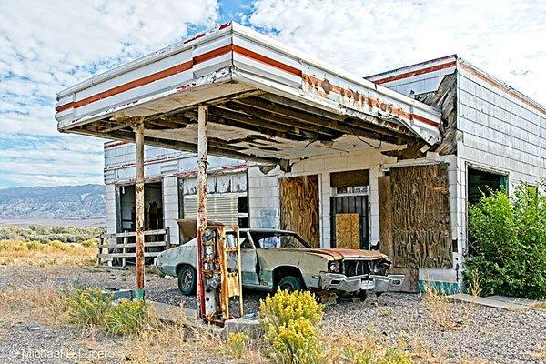Abandoned gas station, Hwy 89, Central Utah
