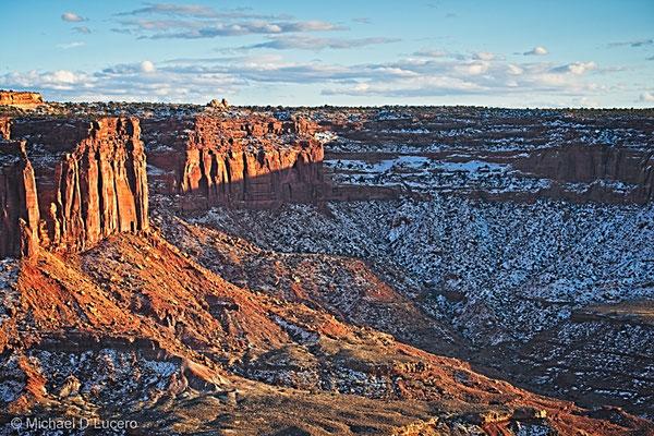 Sunset at Canyonlands NP, Utah