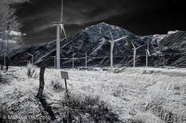 Wind Turbines near Spanish Fork, Utah