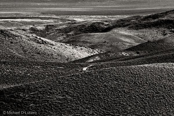 Rolling hills in central Utah