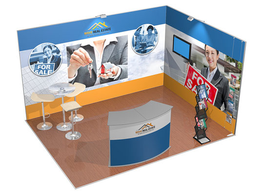 ISOframe Fabric Modulares Messestand-System