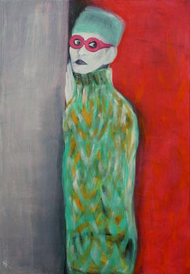 HERMINE, Acryl auf Nessel, 115x80 cm, 2016