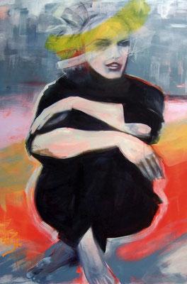 LIBERTINE, Acryl auf Nessel, 120x80cm, 2017