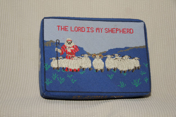 3. The Lord is my Shepherd – donated by John Faulkner and worked by Sue Yelland