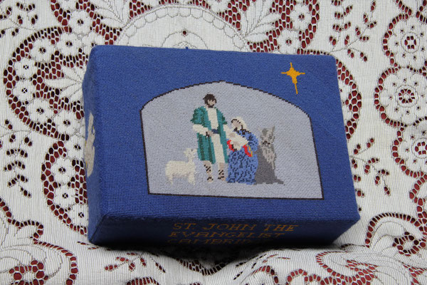 41.  Nativity – donated and worked by the How family