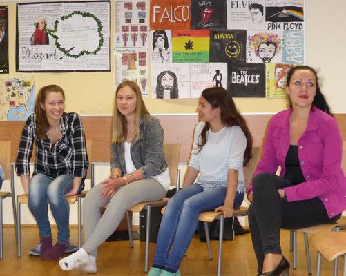 Schüler 1 beim Workshop
