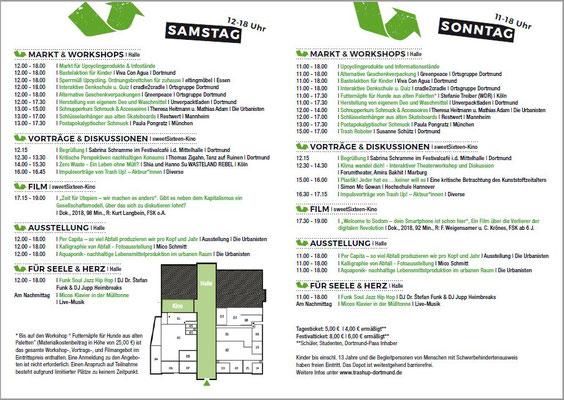 Trash Up! Festival Dortmund im Depot 10.-11.11.2018 Programm