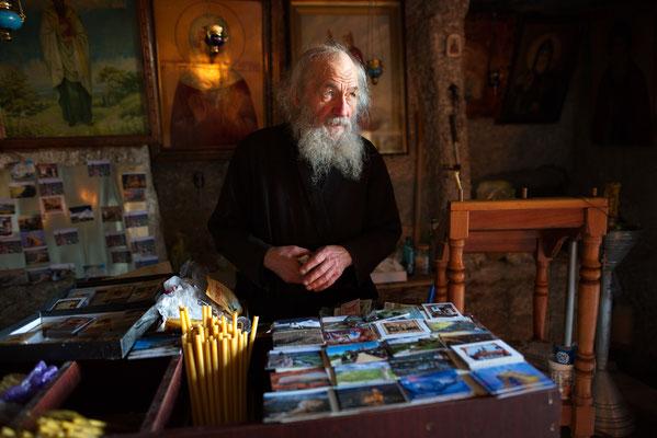 Mönch in Moldawien