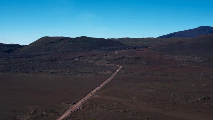 Straße auf La Reunion