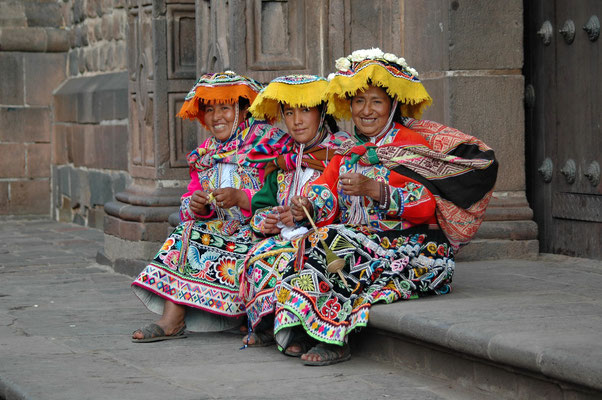 Models in Cusco, Peru