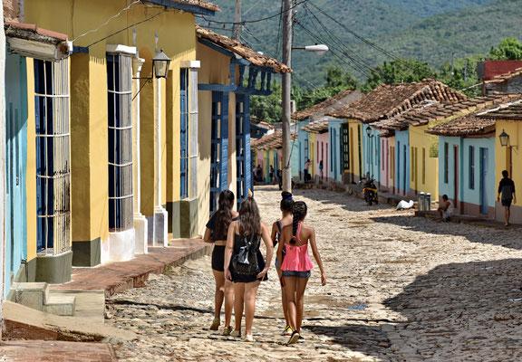 Junge Mädchen in Trinidad, Kuba