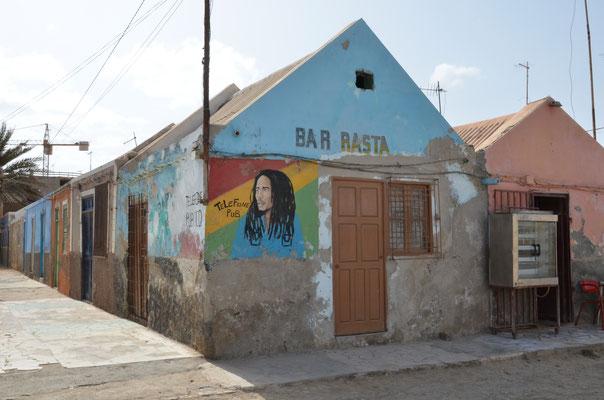 Bar in Santa Maria, Kapverdische Inseln